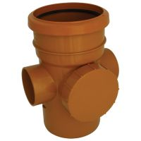 FloPlast D274 Access Pipe Single Socket 110mm