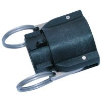 PP Female Lever Coupling BSPP 4""