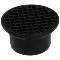 FloPlast D514 Round Hopper and Grid