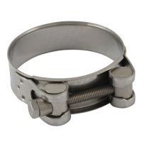 Stainless Steel 316 Jubilee Superclamp 52mm to 55mm