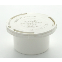 Marley White Waste MUPVC Access Plug 40mm