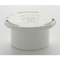 Marley White Waste MUPVC Access Plug 50mm