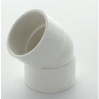 Marley White Waste MUPVC 45 Deg Bend 40mm