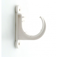 Marley White Waste MUPVC Pipe Clip Open 32mm