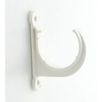 Marley White Waste MUPVC Pipe Clip Open 40mm