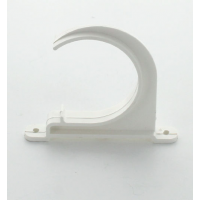 Marley White Waste MUPVC Pipe Clip Open 50mm