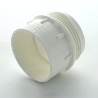 Marley White Waste MUPVC Iron Adaptor Male 40mm