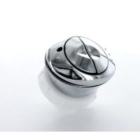 Multikwik Dual Flush Button Oval Chrome