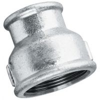 "Galvanised Reducing Socket BSPP 1"" x 1/2"""