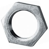 Galvanised Backnut BSPP 1""