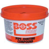 Boss White Pipe Jointing Compound 400gm