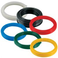 Red Flexible Nylon Tube 30 Metre Coil 4mm x 2.5mm