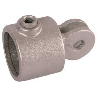 Handrail Pipe Clamp Female Swivel 1""