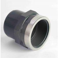 "Astore PVC Adaptor Plain/ BSP with Metal Ring 20mm x 1/2"""