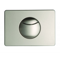 Multikwik Stainless Steel Crescent Dual Flush Plate