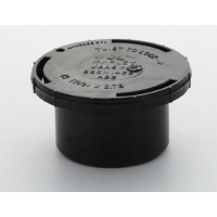 Marley Black Waste ABS Access Cap 40mm