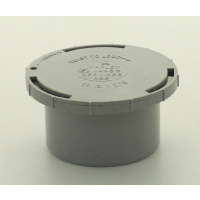 Marley Grey Waste ABS Access Cap 50mm