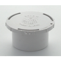 Marley White Waste ABS Access Cap 50mm
