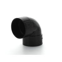 Marley Black Waste ABS Double Socket Bend 90 Deg 32mm