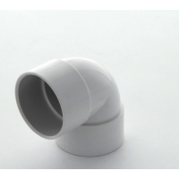 Marley White Waste ABS Double Socket Bend 90 Deg 32mm