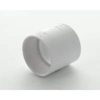 Marley White Waste ABS Straight Coupling 32mm