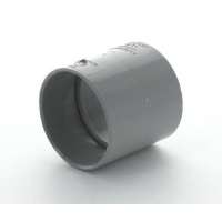 Marley Grey Waste ABS Straight Coupling 40mm
