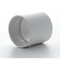 Marley White Waste ABS Straight Coupling 40mm