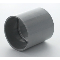 Marley Grey Waste ABS Straight Coupling 50mm