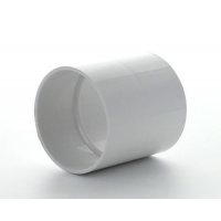 Marley White Waste ABS Straight Coupling 50mm