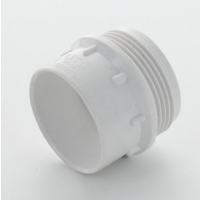 Marley White Waste ABS Iron Adaptor Male 40mm