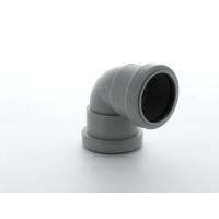 Marley Grey Waste PP Bend 90 Deg 40mm