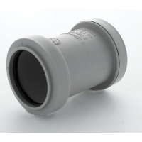Marley Grey Waste PP St Coupling 32mm