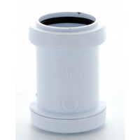 Marley White Waste PP St Coupling 32mm