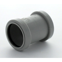 Marley Grey Waste PP St Coupling 40mm