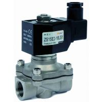 ARTZS STAINLESS Solenoid Valve NBR 24VDC 16mm Orf NC 1/2""