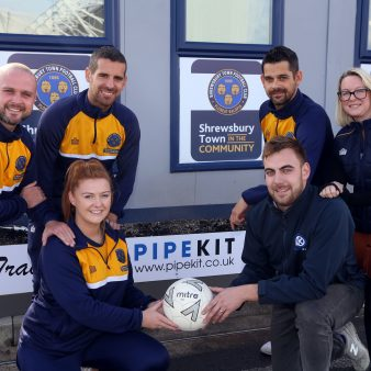 From Morris Dancing to Football - All In a Day's Work for a Pipework and Valves Distributor